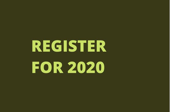 REGISTER FOR 2020
